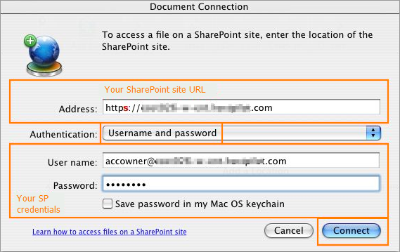 How Do I Create A WebDav Connection To My Hosted SharePoint Site