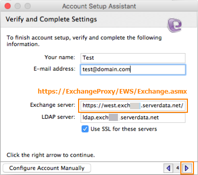 How To Connect Entourage Web Services To My Exchange Mailbox