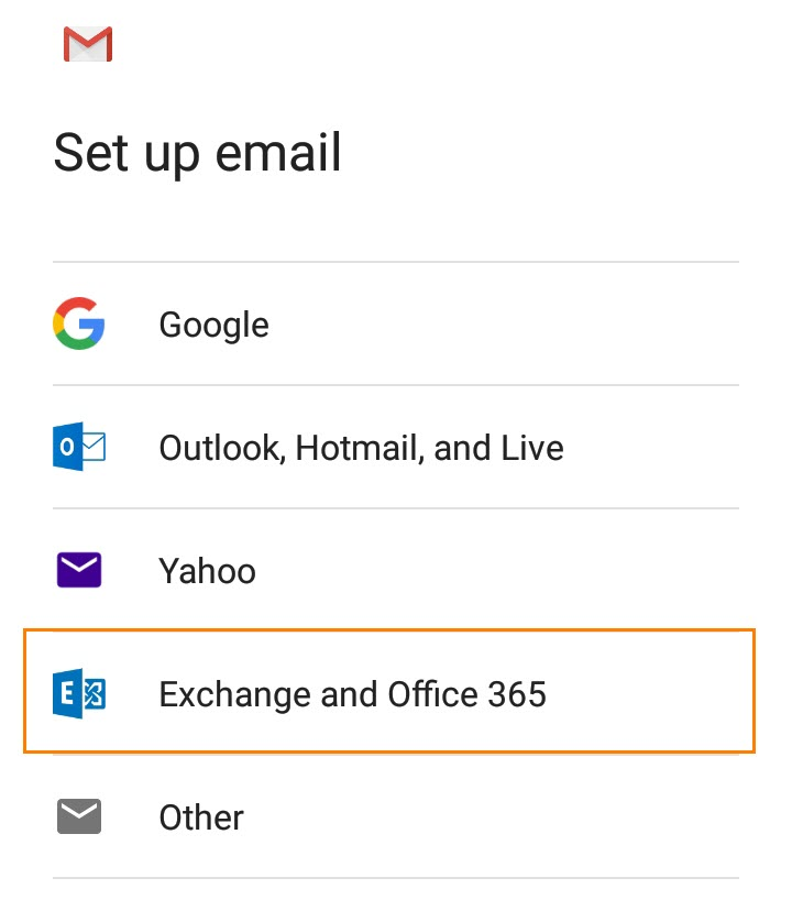 How Do I Set Up A Microsoft Exchange Email Account On An