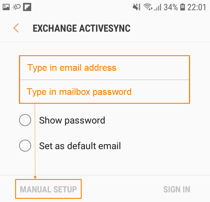 How Do I Set Up A Microsoft Exchange Email Account On An Android