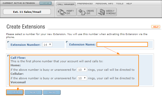SmartNumber Extension Types - Intermedia Knowledge Base