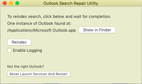 OutlookSearchRepair