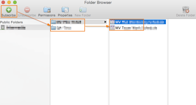Outlook 2011 > Folder Browser