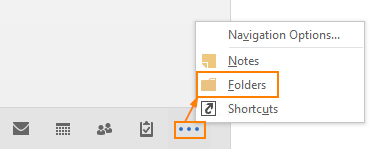 Switch to Folder view