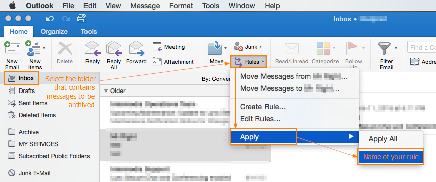 How To Archive Mailbox Data In Outlook 2011 / 2016 For Mac