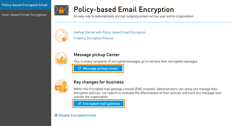 Getting started with policy based email encryption intermedia getting started with policy based email encryption intermedia knowledge base maxwellsz