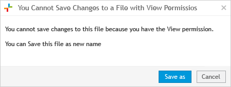 Cannot Save Changes