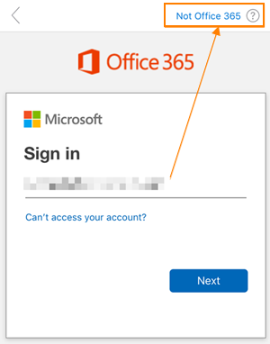 Not o365