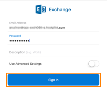 Exchange Account