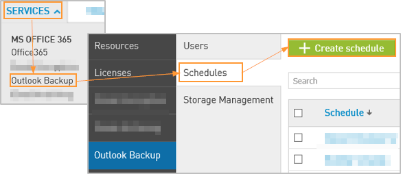 Outlook Backup For Office 365: Scheduled Backups