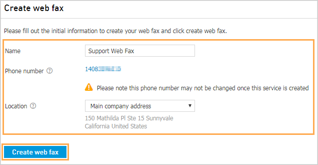 how to create a fax