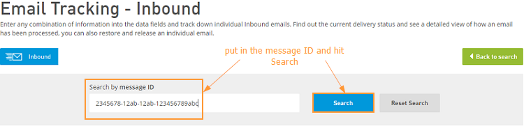 Email Protection: Message Tracking - Intermedia Knowledge Base