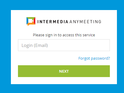 Intermedia AnyMeeting: How To Use The Outlook Add-In For