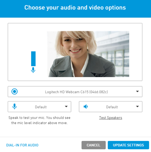 Audio/Video Options