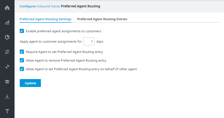 Preferred Agent Routing