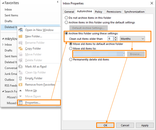 How Does Outlook Archiving Work? - Intermedia Knowledge Base