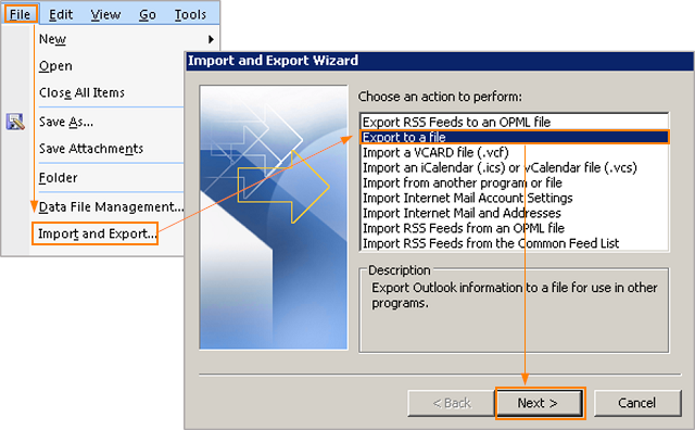 Export Exchange Contacts To Vcf