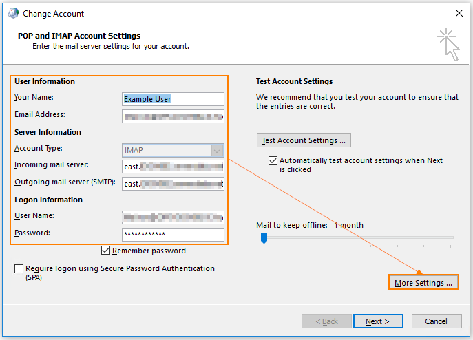 How Can I Connect To My Exchange Server Using POP Or IMAP