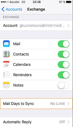 iPhone Or iPad Cannot Connect To Server Or Doesn't Sync All Mail