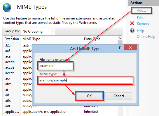 linux find file by mime type