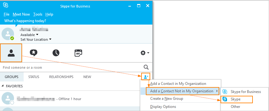 How Do I Add Regular Skype Users To Skype For Business