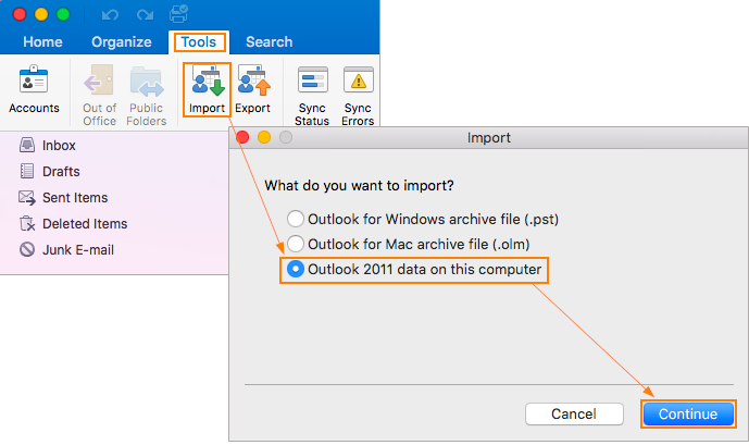 How Do I Migrate My Outlook Profile To Outlook 2016 For Mac