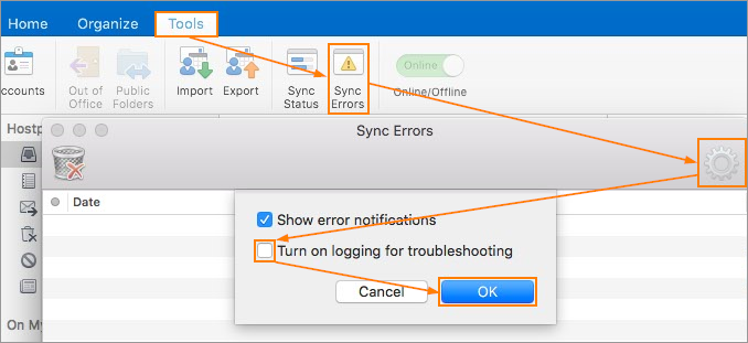 How Do I Enable Logging In Outlook For Mac? - Intermedia
