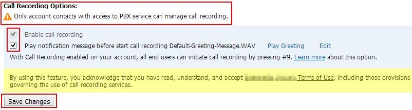 How To Use Call Recording With The Hosted PBX Service