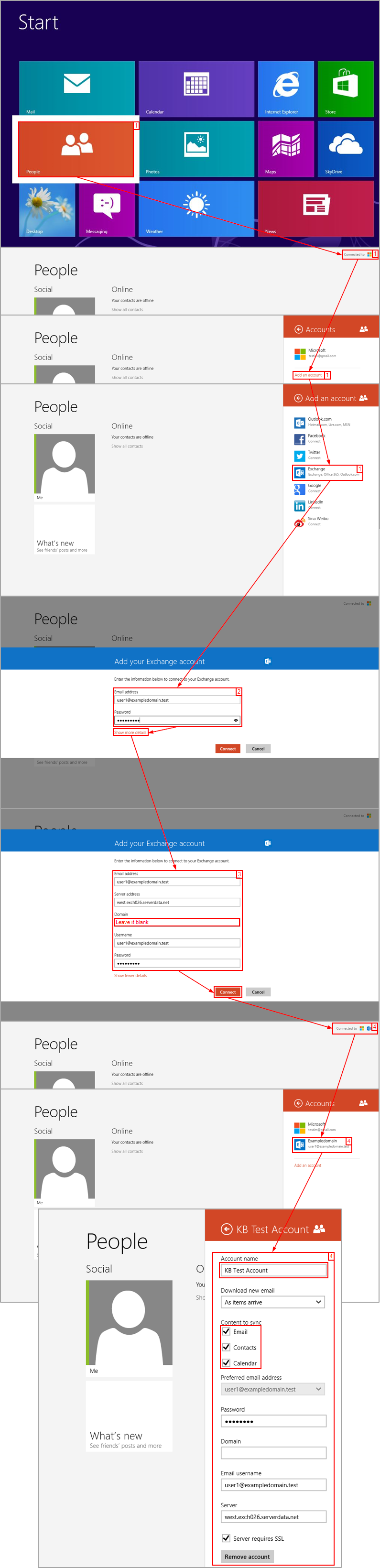 Guide: How To Connect A Wireless Device With Email Account - Intermedia  Knowledge Base