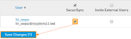 Enable SecuriSync