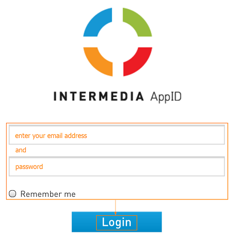 Log in to AppID