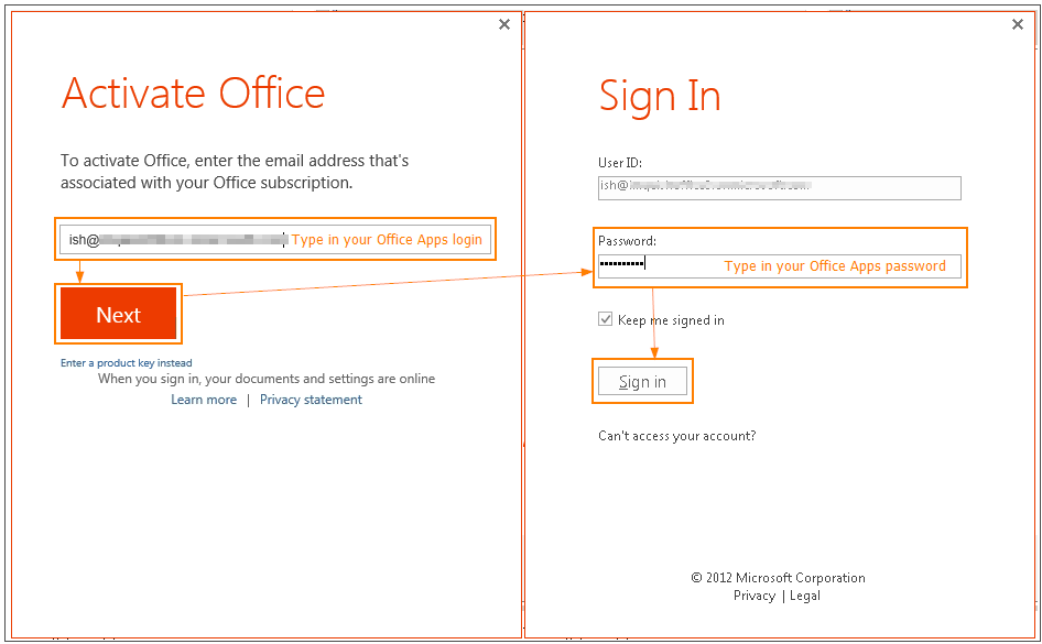 activate office 2011 on mac