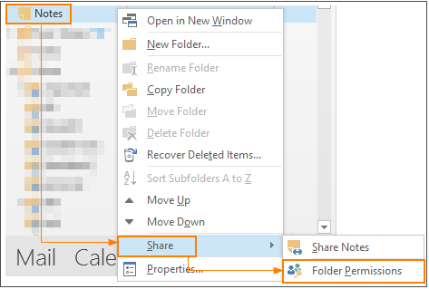 How Do I Share (Let Others See) My Outlook Folders (Inbox